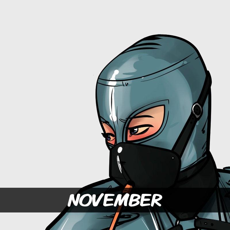 Calendar 2018 Patreon